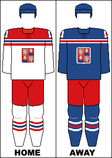 Czechoslovakia national hockey team jerseys (Munich Goes Sour)