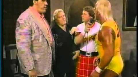 Piper's Pit with Hulk Hogan and Andre the Giant (02-07-1987)