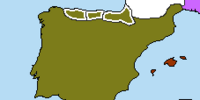 Visigothic Kingdom of Spain (Fall of Constantinople 675AD)