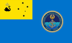 Flag of the Cygnian Imperial Navy
