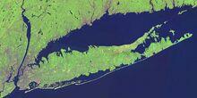 Long Island Landsat Mosaic