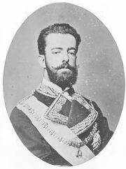 Amadeo king of Spain
