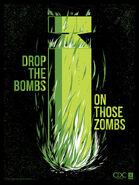 Zombie propaganda drop the bombs by ron guyatt-d5glaur