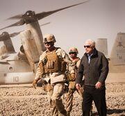John McCain visiting Afghanistan (SIADD)