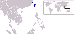 Map Taiwan (VegWorld)