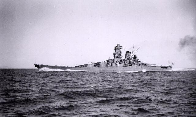 File:Yamato on way to Hawaii.jpg