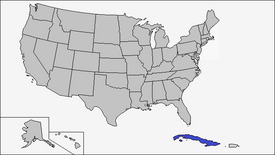 Location of Cuba (Coin Toss)
