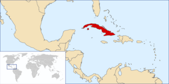 Location of Cuba OTL