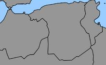 Map of Algeria (1861 HF)