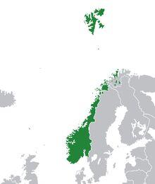 Map of Norway (1983 Doomsday)