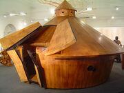 Da Vinci's Battle Tank
