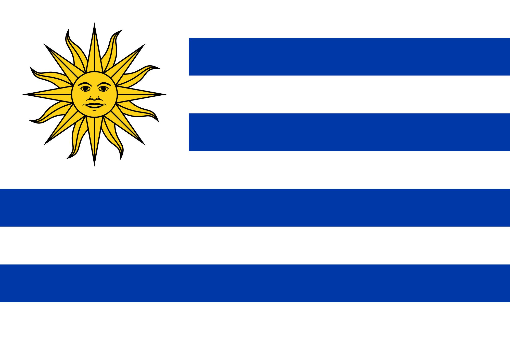 Bandera de Uruguay | Metro Map | Bus Routes | Metrobus Way Map ...
