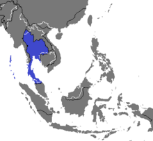Location of Thailand (Nuclear Apocalypse)
