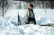 Norwegian soldier in Finnmark