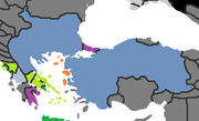 Aegina Treaty Ottomans PM3 1402