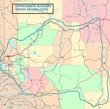 1983DD Sierra Nevada Union Borders - 2011