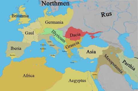 Gaul World Map.Gaul World Map