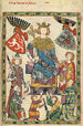 Codex Manesse Wenzel II. von Böhmen