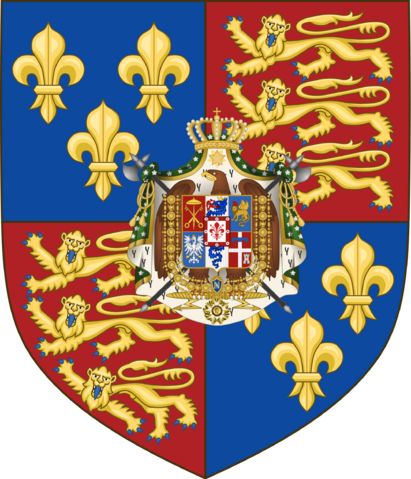 File:Coat of Arms of the United Kingdom of England, Wales and Italy TE.png
