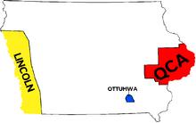 Map of Iowa (1983 DD)