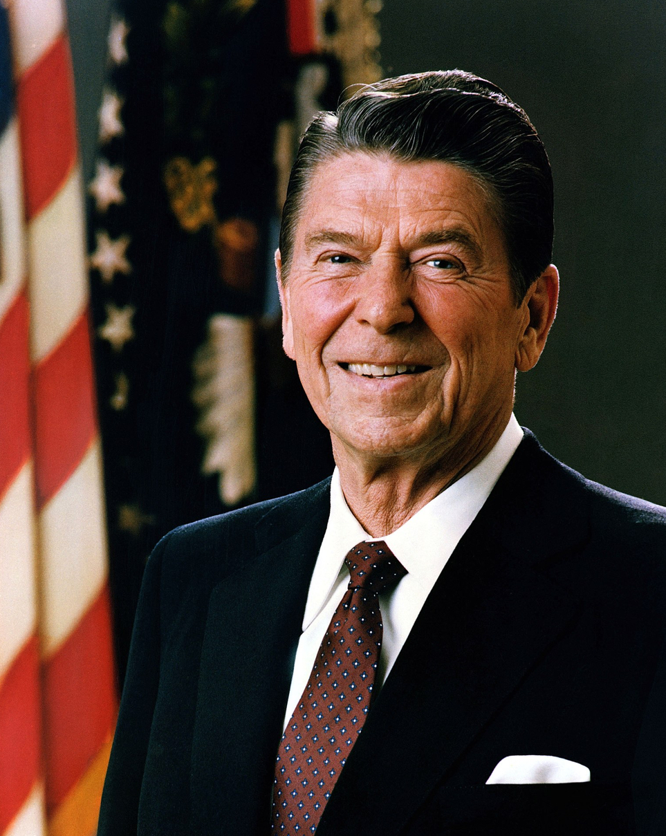 232px-Official Portrait of President Reagan 1981