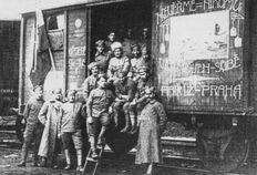 Vagón vlaku čs. legií