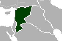 Location of Syria (Satomi Maiden ~ Third Power)