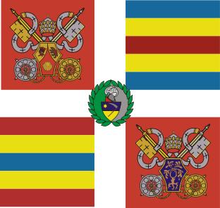 File:Guardia Svizzera Bandiera.png