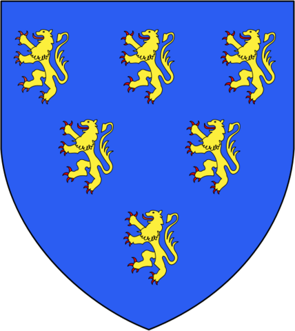File:Coat of Geoffrey Plantagenet.png