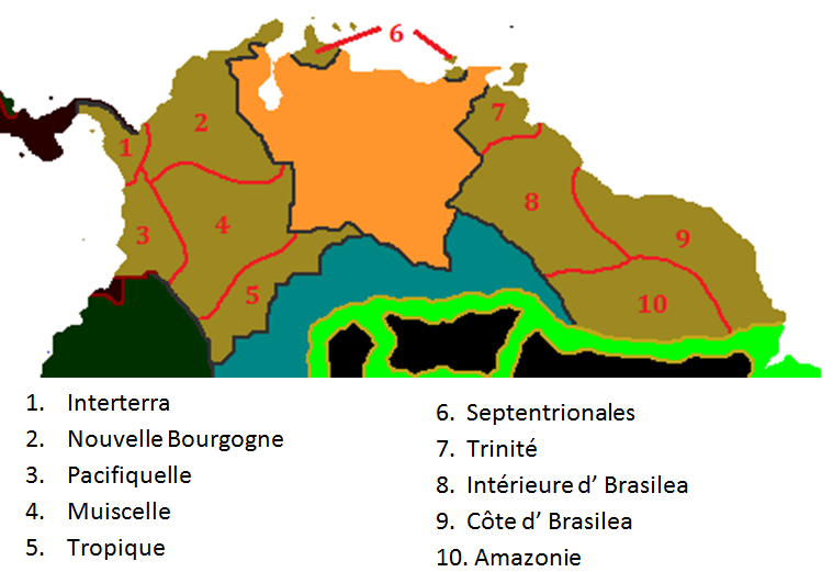 Internal Divisions of L'Atlantide