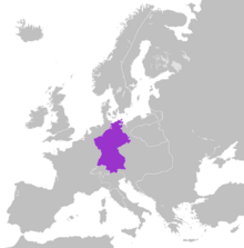 Location Confederation of the Rhine