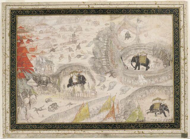 File:The Battle of Samugarh.jpg