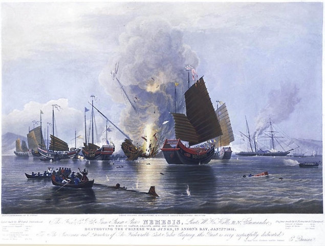 File:First Opium War Naval Battle.PNG