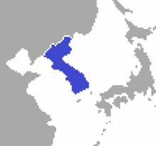 Korea location (Greater Europe)
