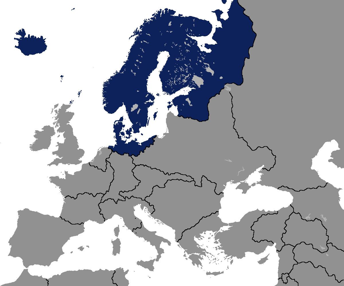 Scandinavia Power Of Scandinavia Alternative History Fandom Powered By Wikia