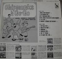 Chipmunks a Go-Go Back Cover