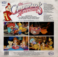 The Chipmunk Adventure LP