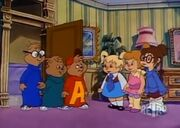 The Chipmunks meet The Chipettes
