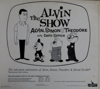 The Alvin Show Album Back Cover