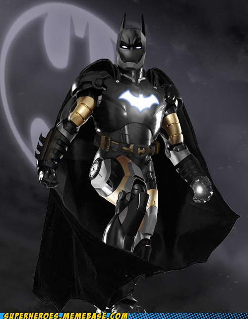 If Other Superheroes Had Iron Man's Armor Suit - DesignTAXI.com