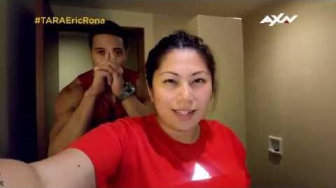 The Amazing Race Asia 5 T-0 Racers' Vlogs - Eric and Rona