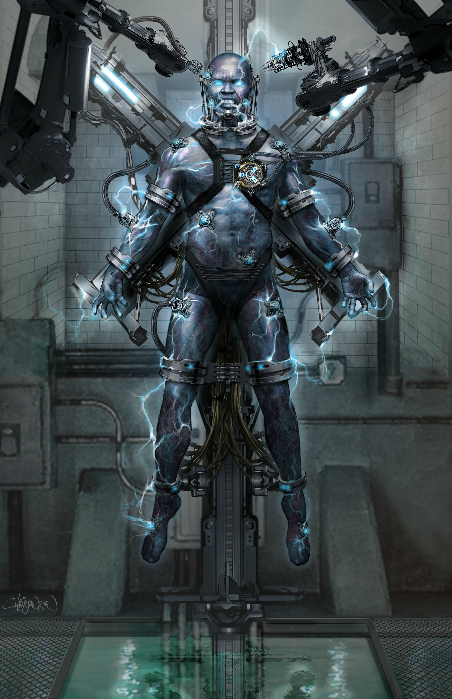 Full resolution  Amazing Spider Man 2 Electro Concept Art