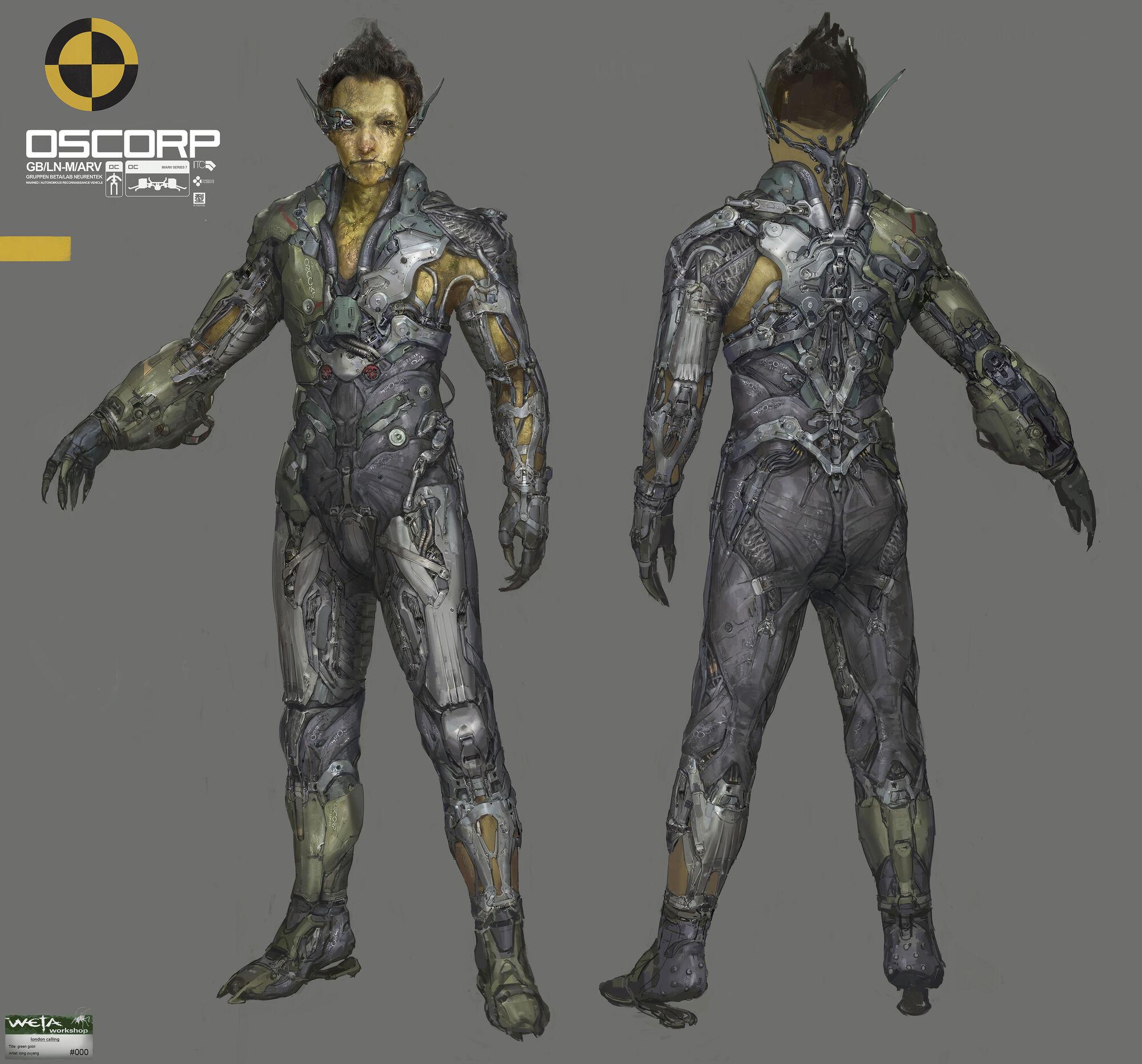 Image - The-amazing-spider-man-2 green-goblin-concept-art ...