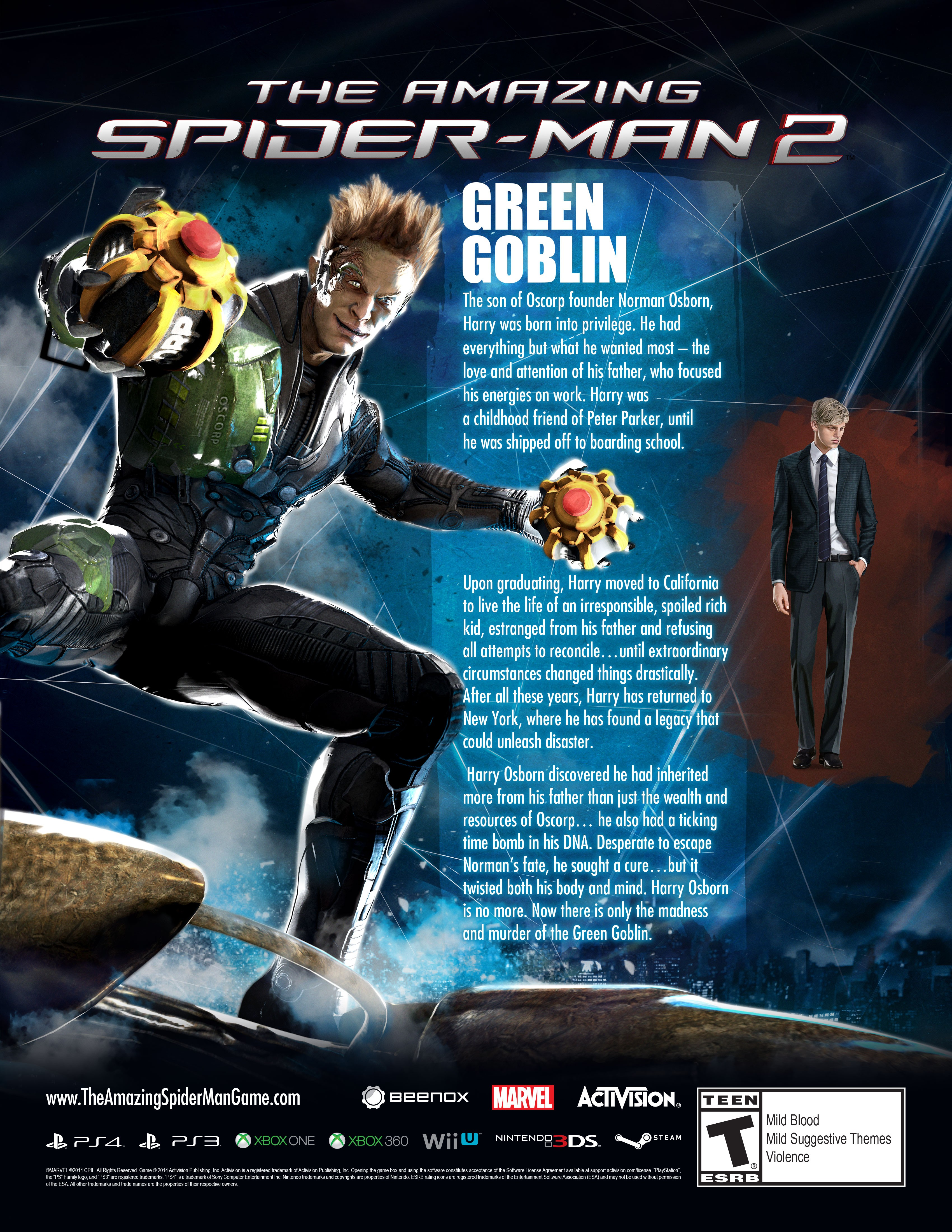 Green Goblin 2014 Suit KWwSLp2