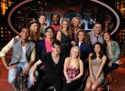 The Top 10 Group Performance - American Idol Season 11 ...