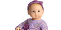 Purple Posies Outfit