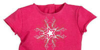 AGP Pink Radial Symmetry Star Shirt