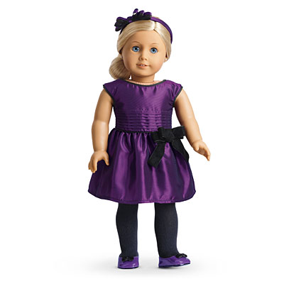 Image result for american girl doll purple party