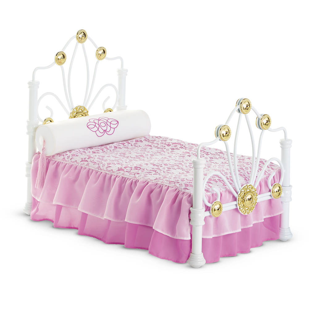 American Girl Doll Bedroom: Rebecca's Bed And Bedding (BeForever)