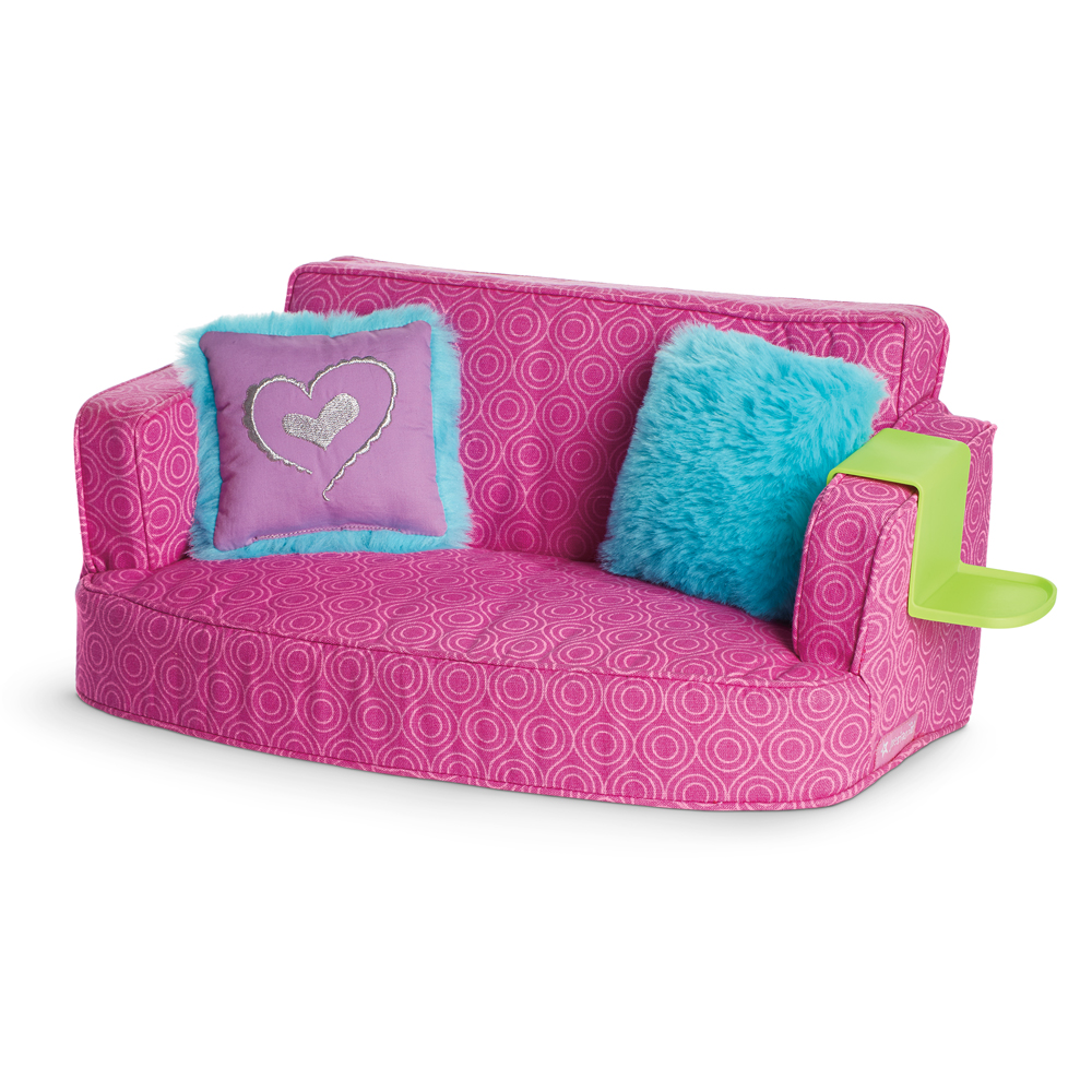 Giantex Pink Kids Teen Sofa Armrest Chair Couch Children